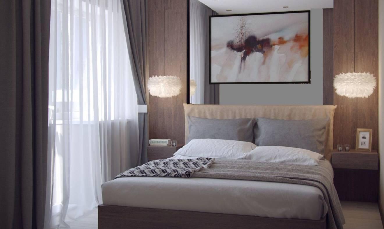 Шоколад — спальная комната
