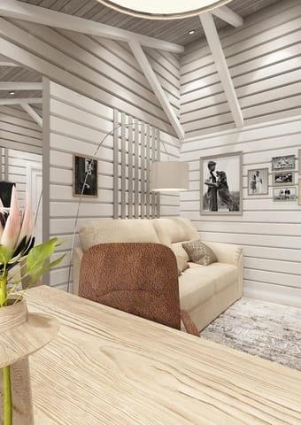 дизайн проект дома Кинешма — гостевая комната
