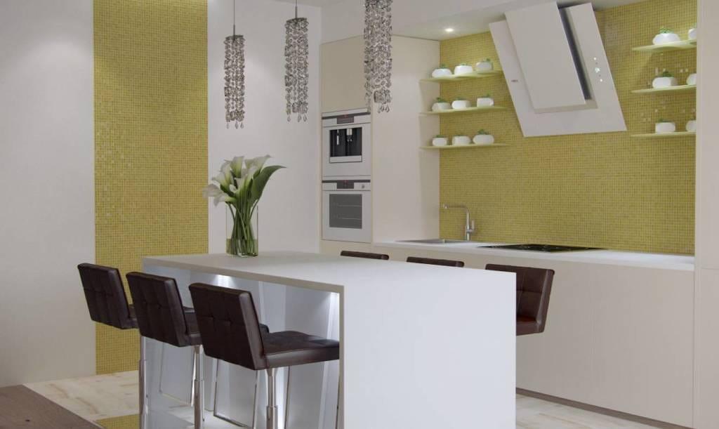 Дизайн проект Безмятежность - кухня