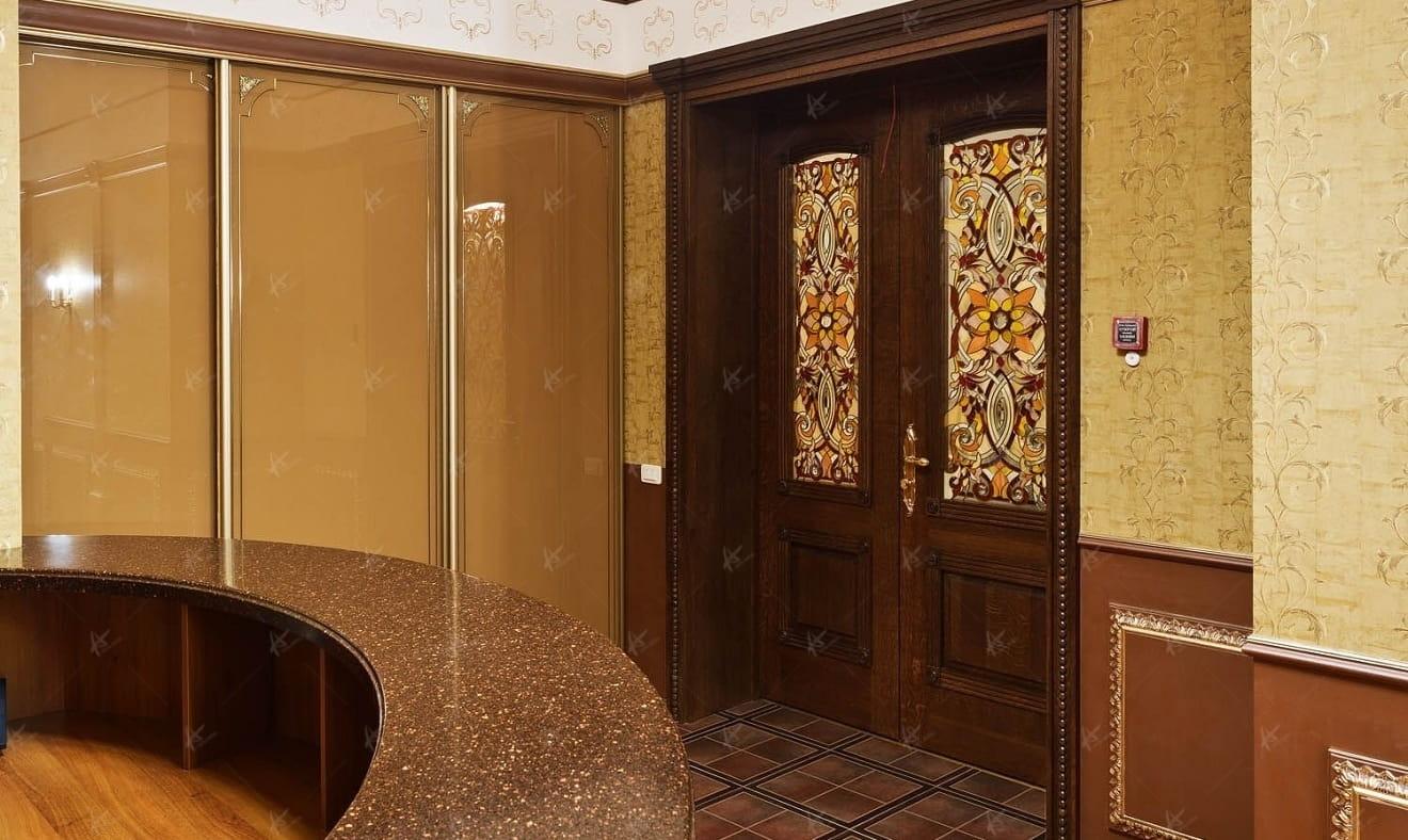 дизайн проект дверей вид со стороны