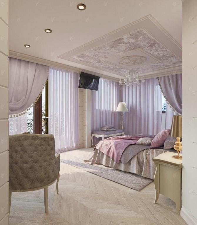 спальная комната Нефрит