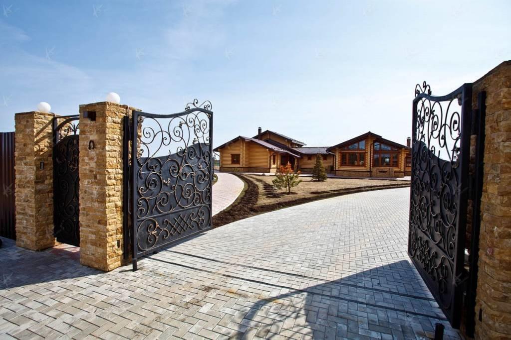 Ворота, въезд во двор