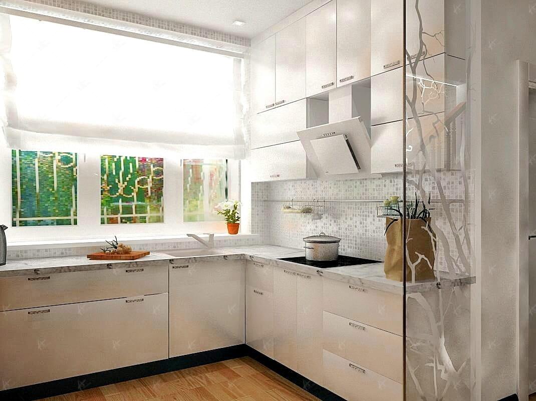 Кухня в квартире Дубровка