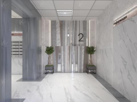 Проектирование холла и подъезда