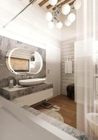 зеркало в ванной комнате проект Кинешма