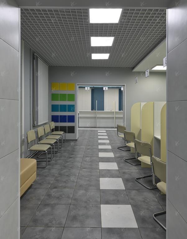 места для ожидания приёма в РКЦ город Киров 2