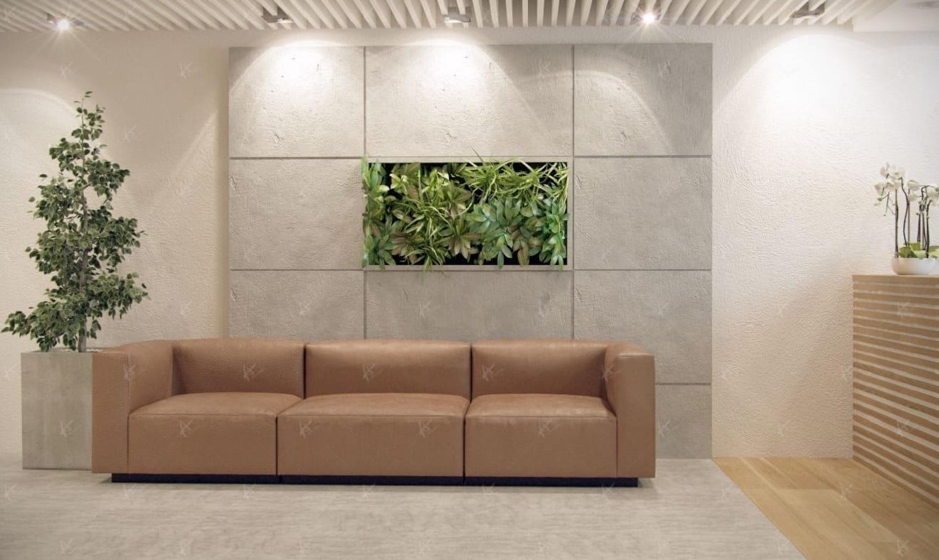 Дизай проект Вятка ЦУМ — диван в офисе