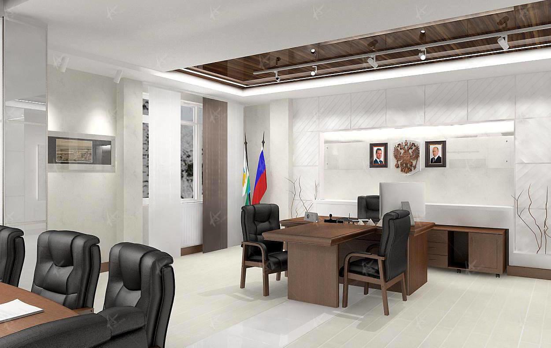 Кабинет налоговой инспекции дизайн проект