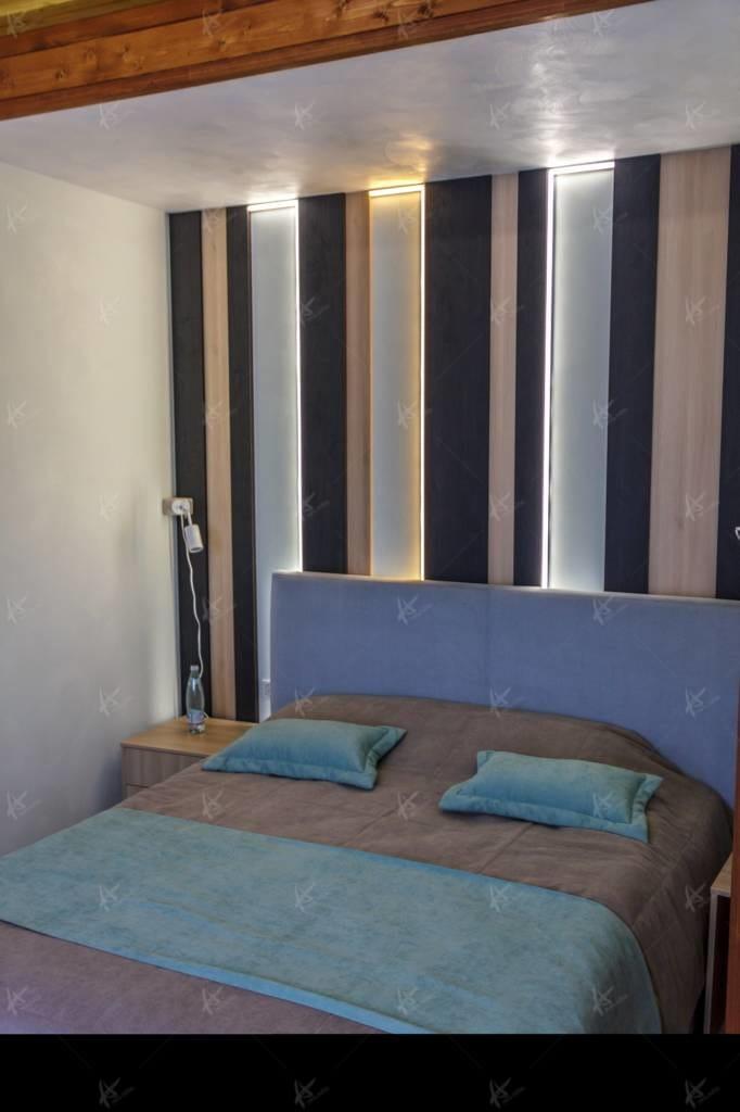 спальня в банном комплексе