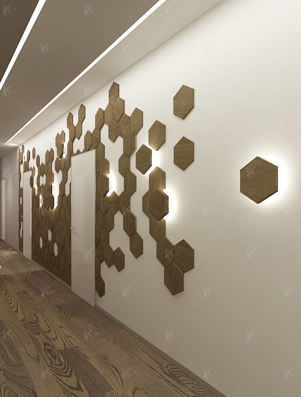 Дизайн проект Апартаменты — прихожая
