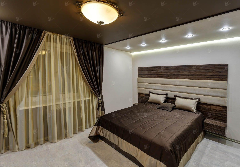 Спальня в квартире Унисон