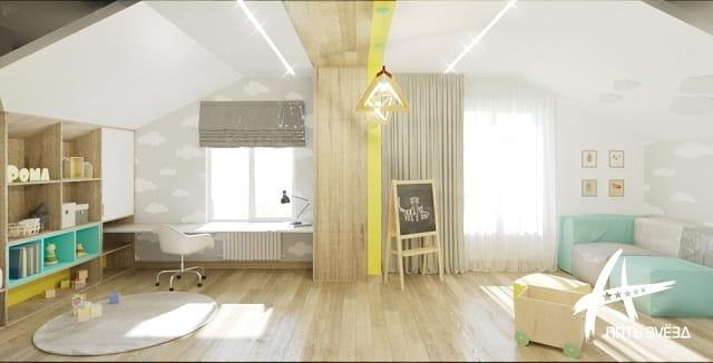 Mellow Yellow - комната на втором этаже