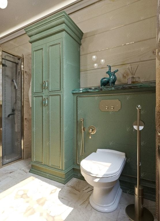 туалет в доме Нефрит