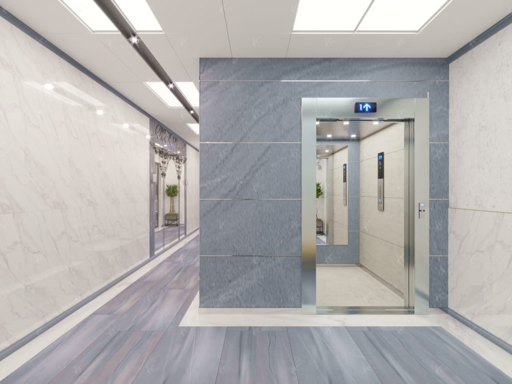 коридор в подъезде