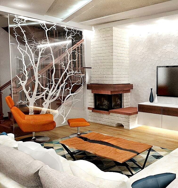 Телевизор в квартире Дубровка