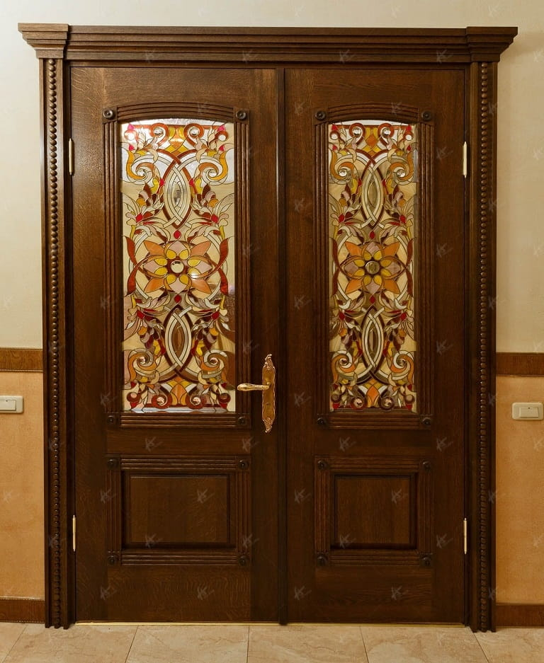Дверь в кабинет - фронтальный вид