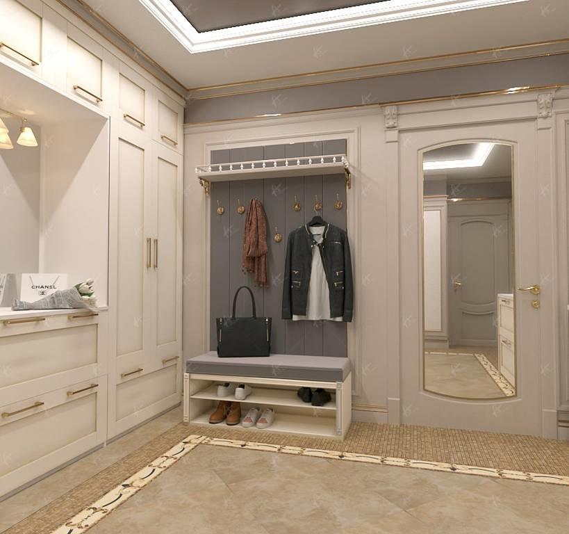 гардероб в холле