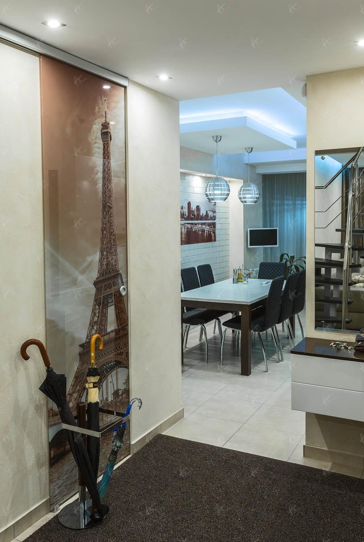 Дизайн проект гостиной в доме Souvenir 2