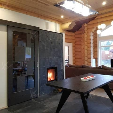 Дизайн интерьера деревянного дома Дюссельдорф