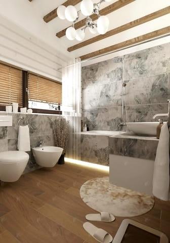 проект дома Кинешма — ванная