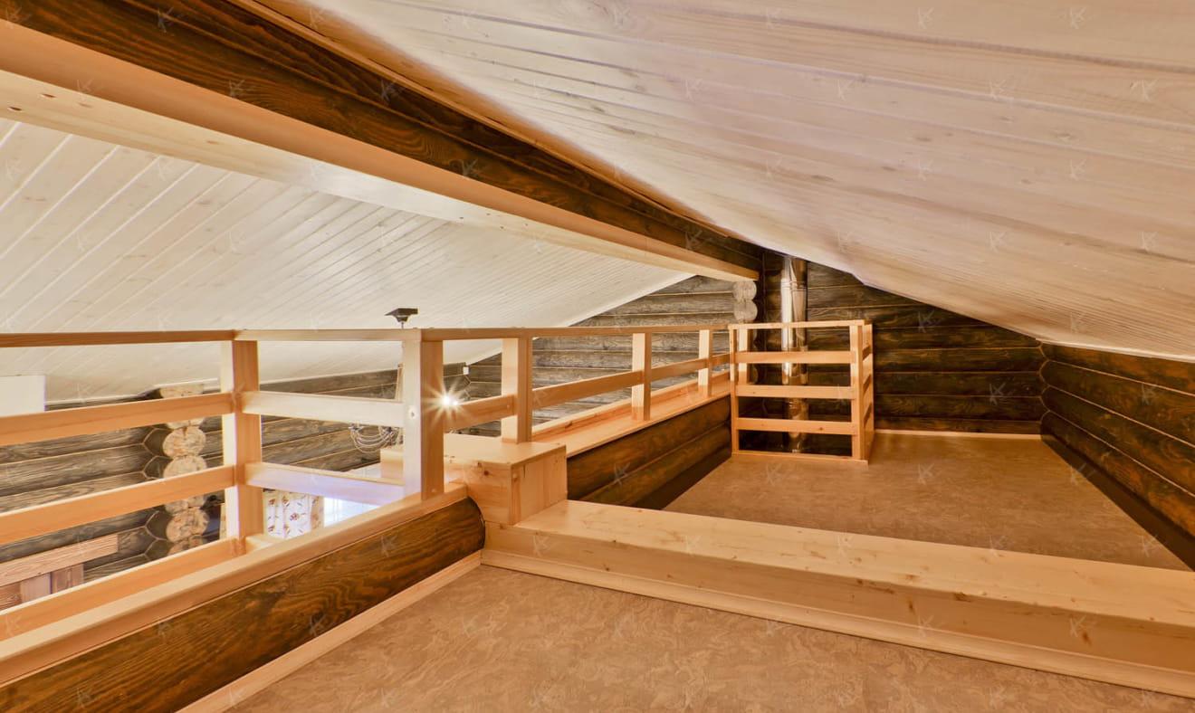 дизайн проект банного комплекса — второй этаж