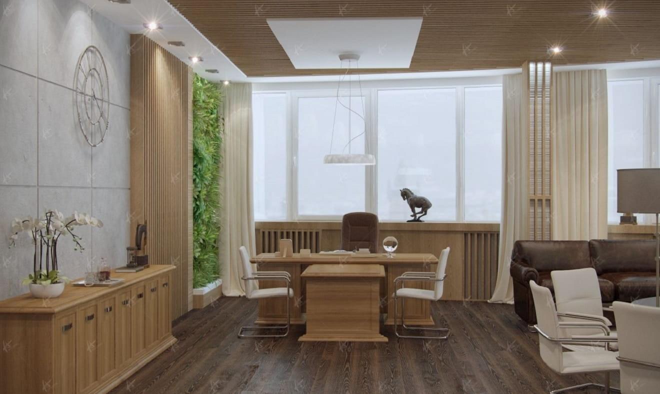 Дизайн проект конференц зала Вятка ЦУМ — рабочее место