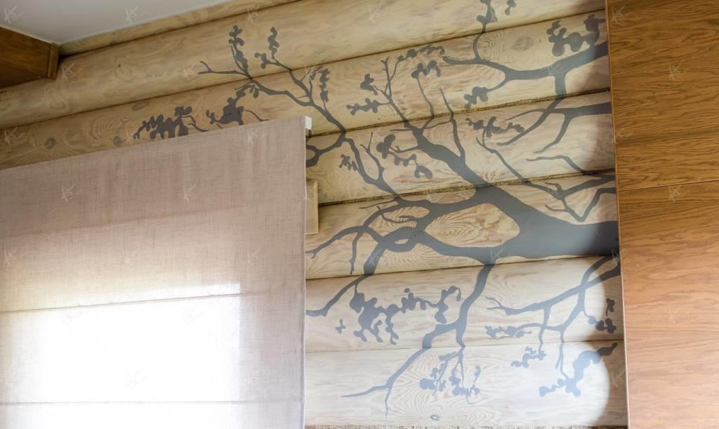 рисунок на стене - дерево