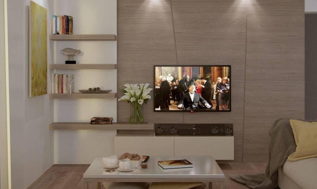 безмятежность - телевизор в гостиной