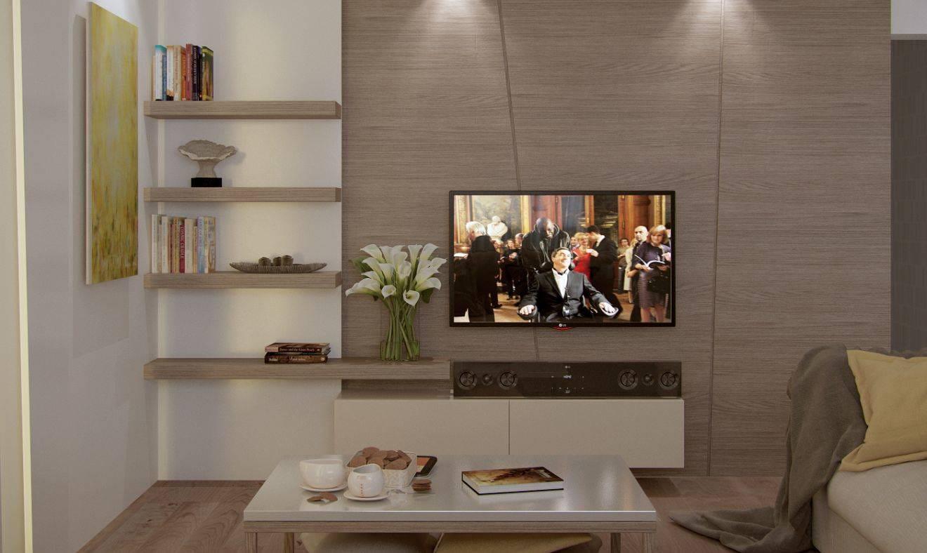 дизайн проект безмятежность — телевизор