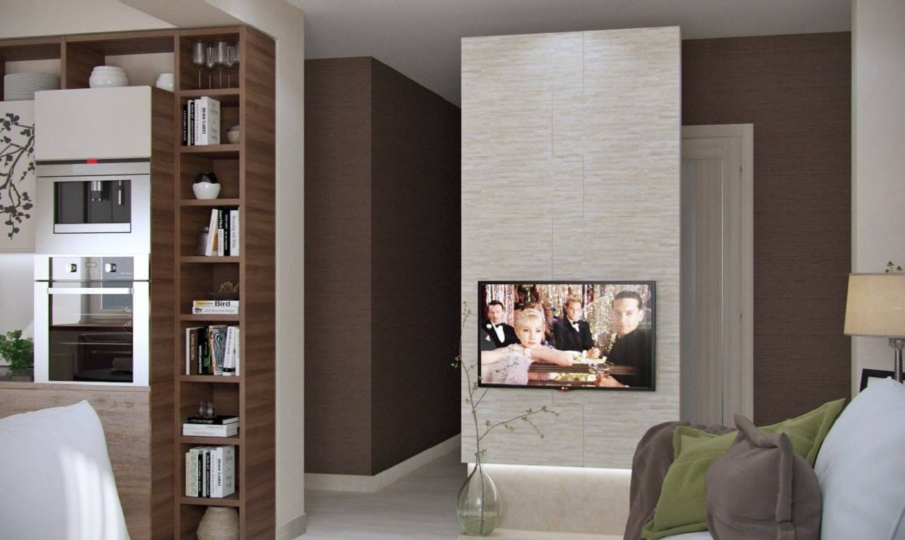 Шоколад — предметы интерьера, телевизор