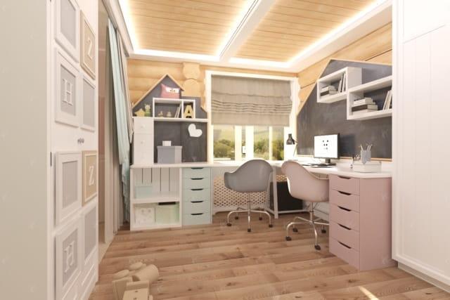 дизайн проект спальной green house 1