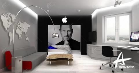 Комната в стиле Apple
