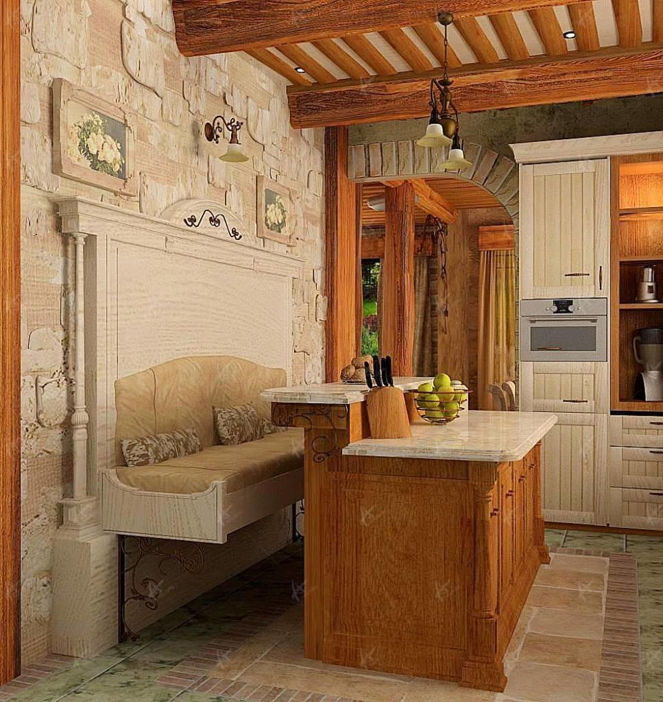 как спроектировать дом - проект кухни