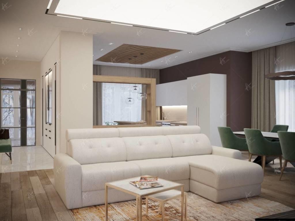 диван - вид спереди