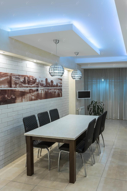 Дизайн проект гостиной в доме Souvenir