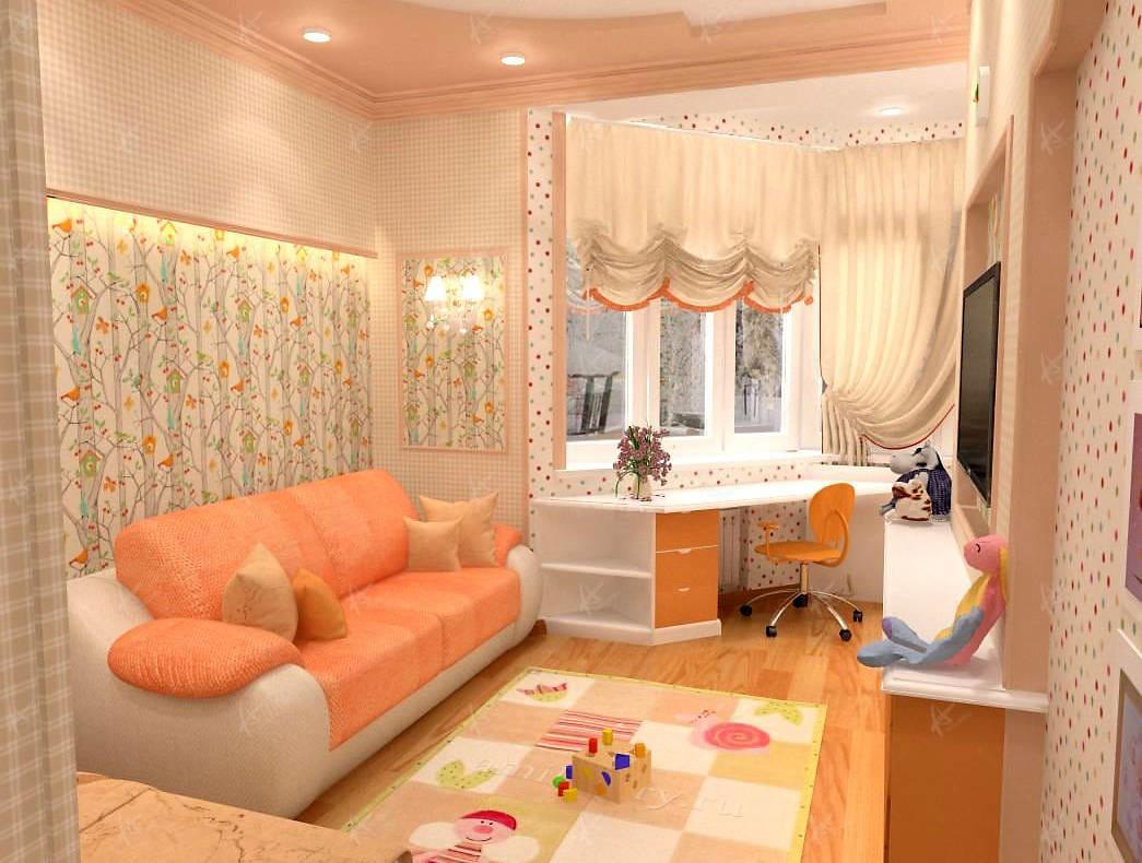 Дизайн проект квартиры Дубровка — диван
