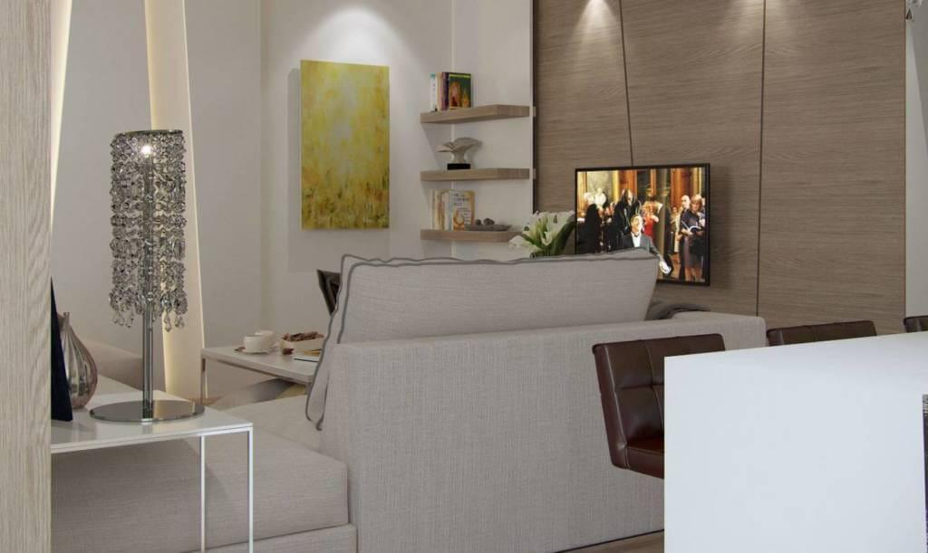телевизор в квартире безмятежность