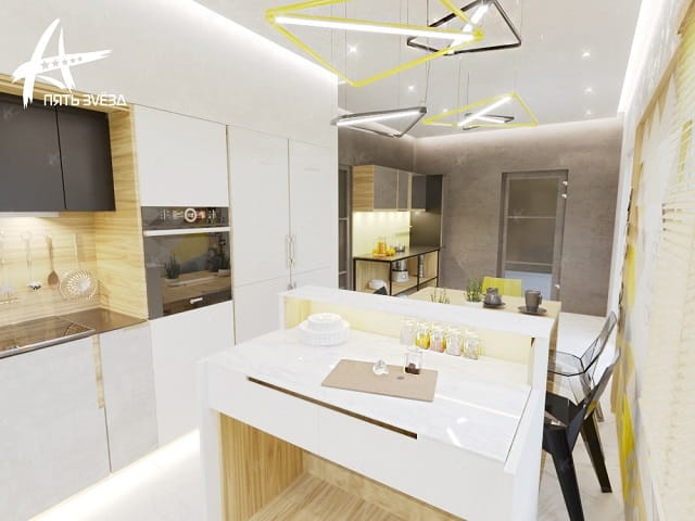 Mellow Yellow - кухня