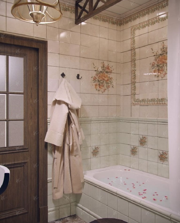 Кантри - ванная комната