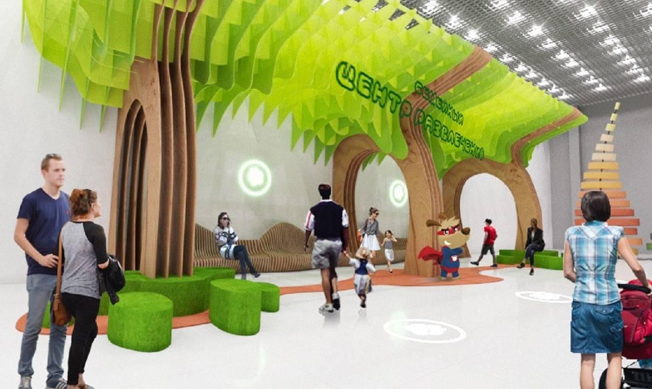 Дизайн проект игровой зоны в центре Муравейник 2