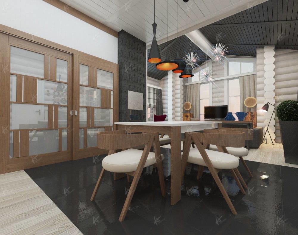 дизайн гостиной в стиле comfortable