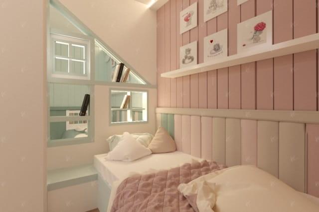 дизайн проект спальной green house 3