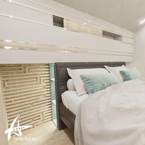 Дизайн проект спальной комнаты Mellow Yellow — диван