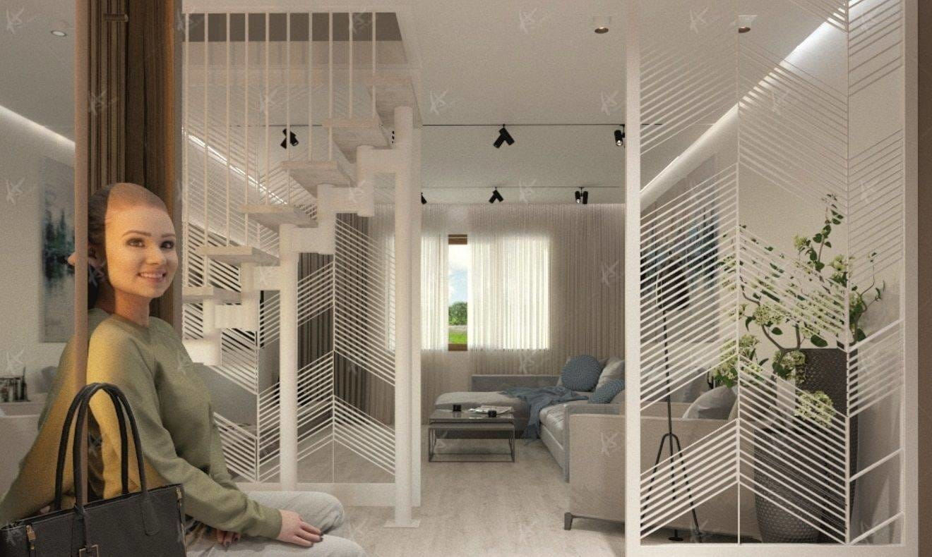 Проект Novacia гостиная комната