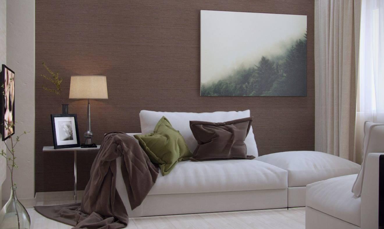 Дизайн интерьера дома: Шоколад — гостиная